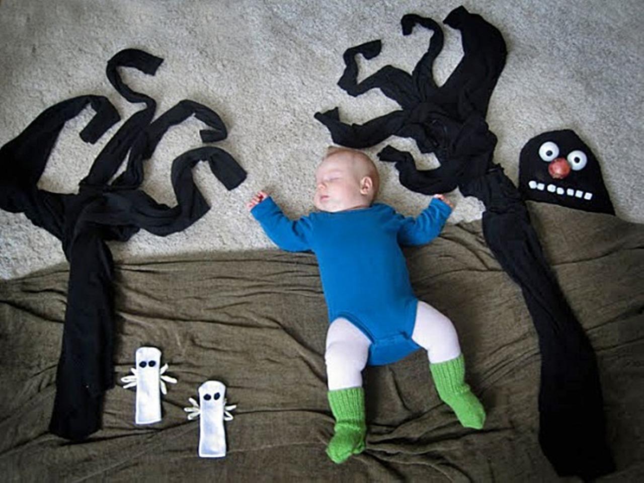 Оригинальное фото на заказ с ребенком