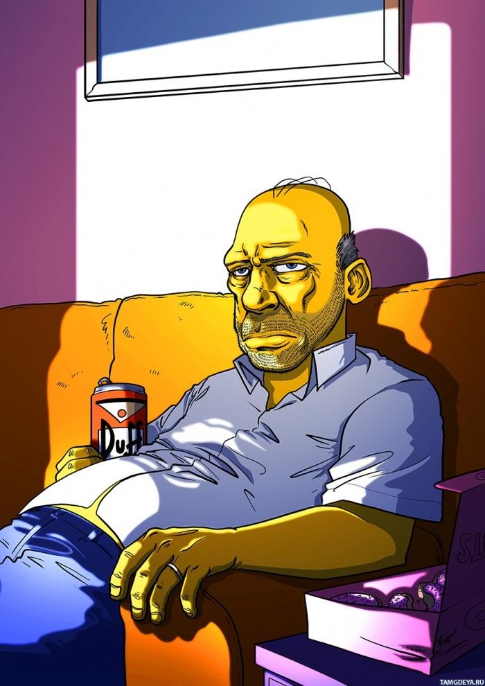 аватарки гомер симпсон: