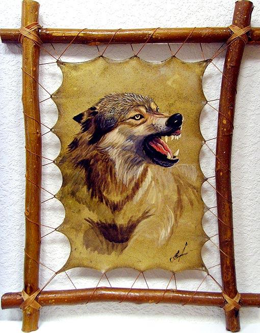Картинки свирепый волк