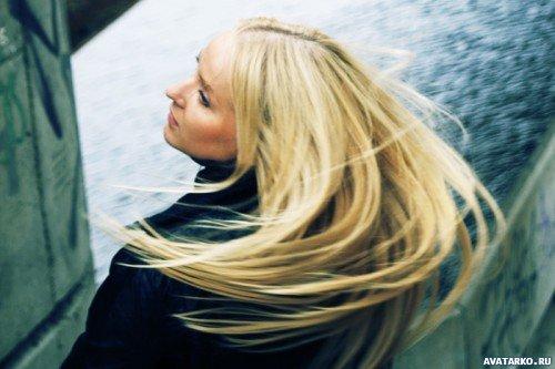 Картинки девушек со светлыми волосами скачать