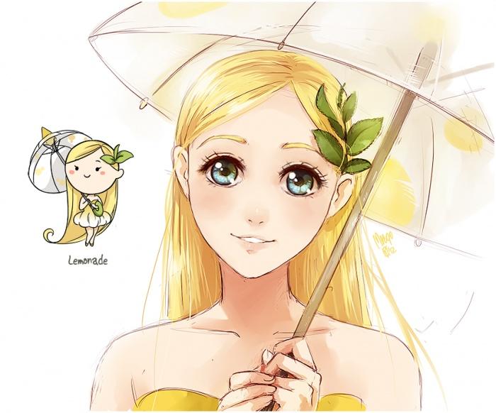 аватарки аниме девушки: