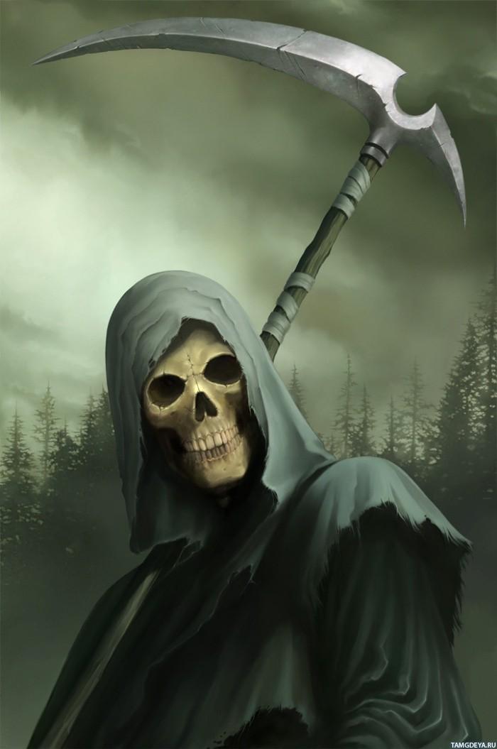картинки смерти на аватарку: