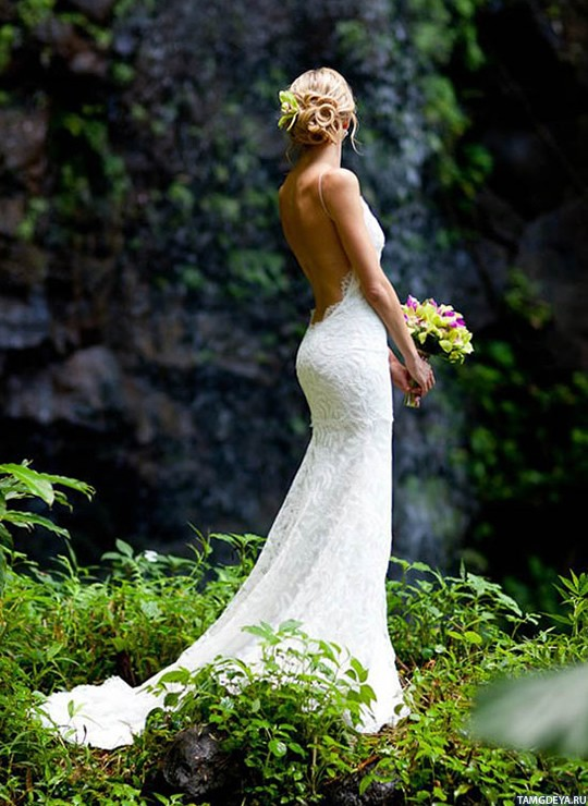 Свадебные платья блондинки