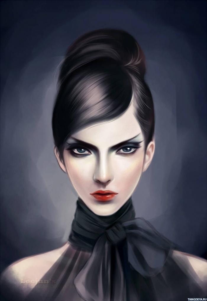 Картинка 700x1019 Красивое личико девушки ...: avatarko.ru/pic.php?id=66809