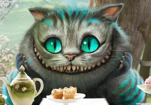 чеширский кот аватарка:
