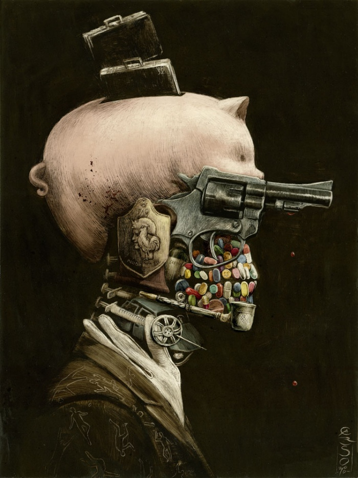 аватарки с оружием: